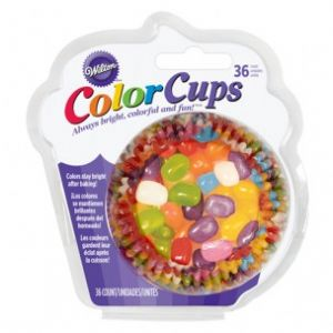 ColorCups Baking Cups Jelly Bean 36 Pack